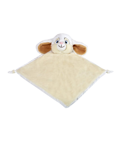 Personalised White Bunny Blankie