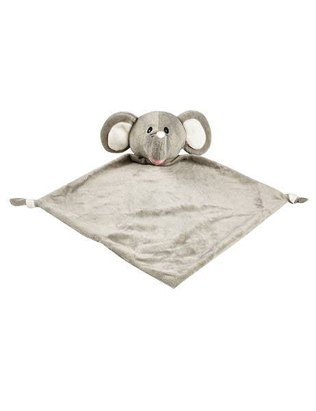 Personalised Elephant Blankie comforter soother