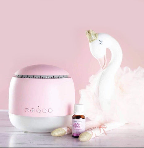 Aroma Snooze Diffuser and Sleep Aid includes 15ml Snooze Essential Oil - PINK