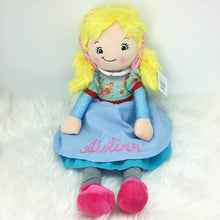 Load image into Gallery viewer, Personalised Cubbies Isabella Doll