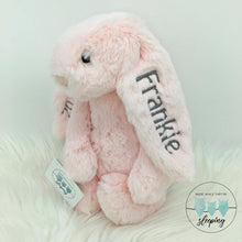 Load image into Gallery viewer, Personalised Jellycat Bashful Bunny - Pink