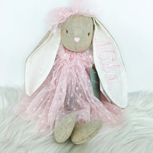 Load image into Gallery viewer, Personalised Alimrose Baby Bea Bunny 40cm