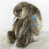 Personalised Jellycat Bashful Bunny - Cottontail