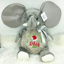 Load image into Gallery viewer, Personalised Grey Elephant EB