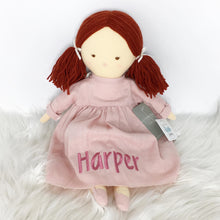Load image into Gallery viewer, Personalised Alimrose Matilda Doll 45cm Pink