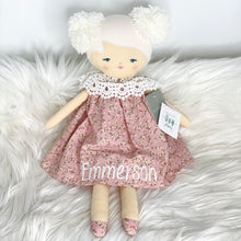 Load image into Gallery viewer, Alimrose Aggie Doll Posy Heart 45cm with white thread for Emmerson
