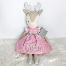 Load image into Gallery viewer, Alimrose Reindeer Girl Pink 40cm