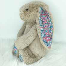 Load image into Gallery viewer, Personalised Jellycat Bashful Bunny - Beige Blossom