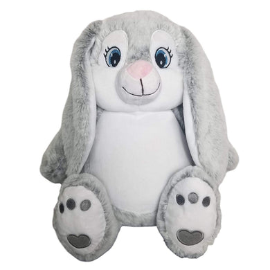 Personalised Bitsy Grey Bunny