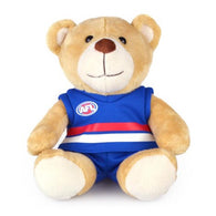 Personalised AFL Bear - Western Bulldogs