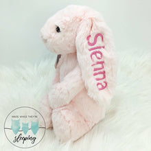 Load image into Gallery viewer, Personalised Jellycat Bashful Bunny Medium - Pink