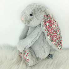 Load image into Gallery viewer, Personalised Jellycat Bashful Bunny - Silver Blossom