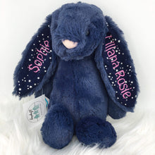 Load image into Gallery viewer, Personalised Jellycat Bashful Bunny - Stardust