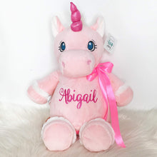 Load image into Gallery viewer, Personalised Pink Unicorn Cubby