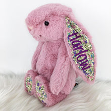 Load image into Gallery viewer, Personalised Jellycat Bashful Bunny - Tulip Blossom
