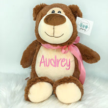Load image into Gallery viewer, Personalised Brown Bear Cubby