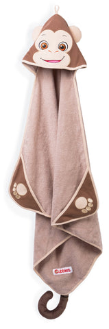Personalised Hooded Monkey Towel