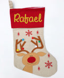 Personalised Stocking - Rudolph 2018