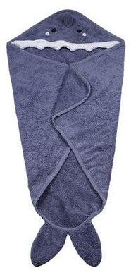 Personalised Hooded Shark Towel