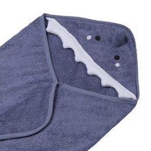 Load image into Gallery viewer, Personalised Hooded Shark Towel
