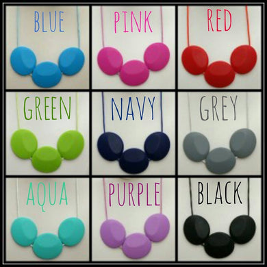Silicone Nursing Necklaces Teether