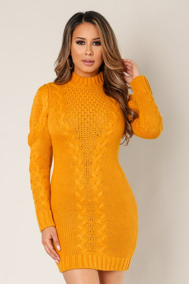 Just For Comfort Sweater Dress - Anew Couture