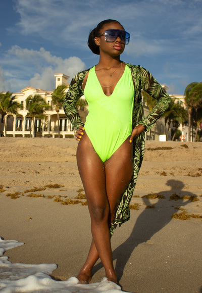 Oceanview One Piece Swimsuit - Anew Couture