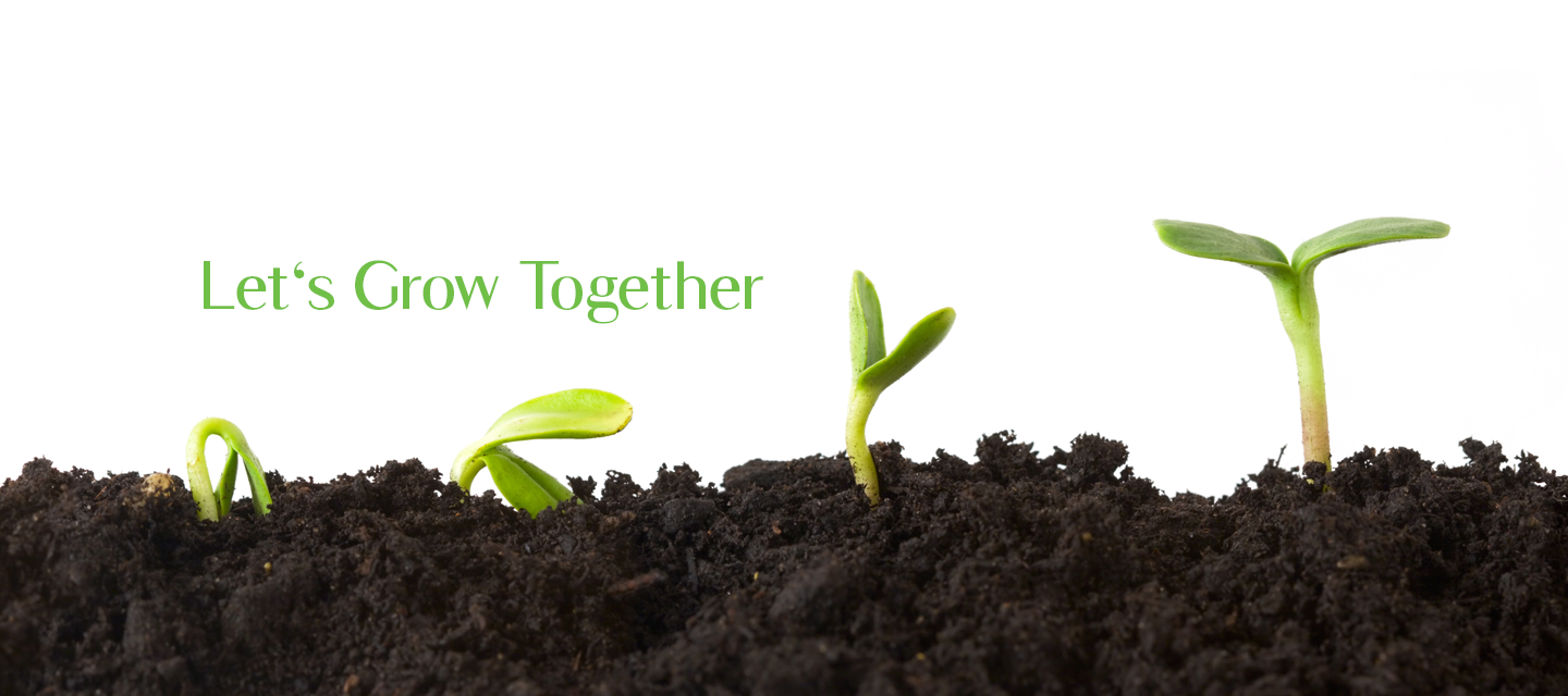 Let's Grow Together Banner