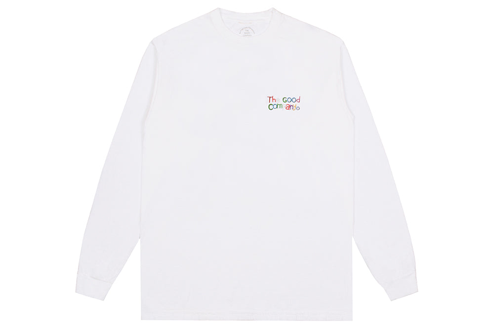 Backyard Longsleeve (white)