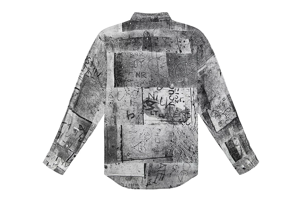 Iggy Wet Cement Button Down
