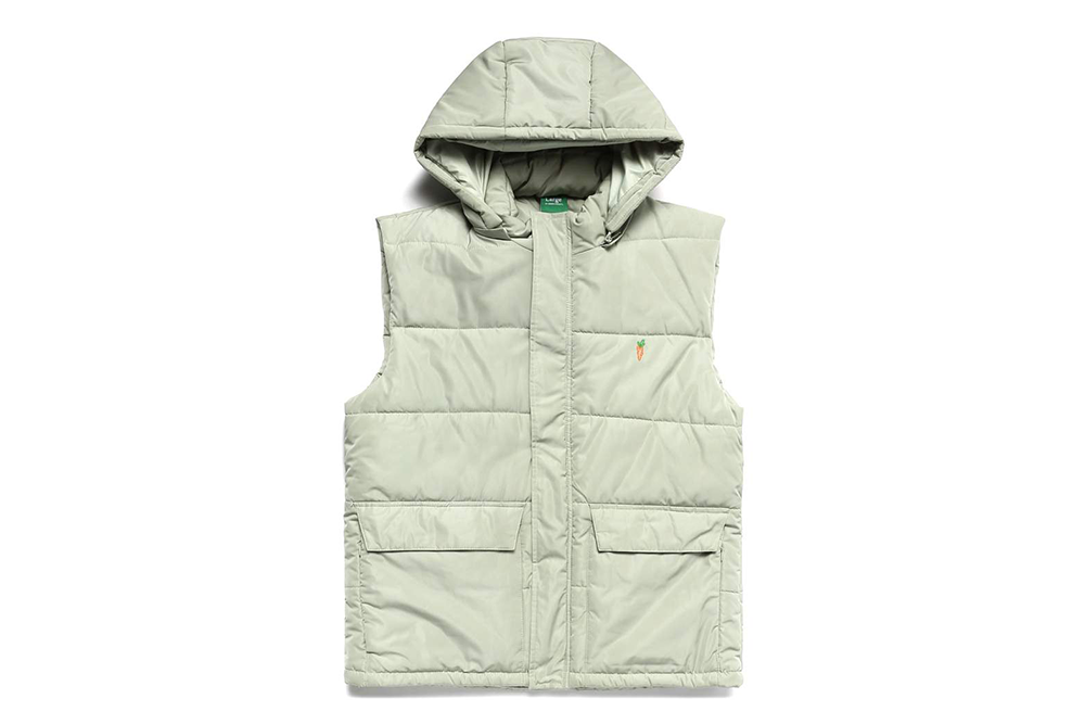 Carrots Signature One Point Vest (sage)