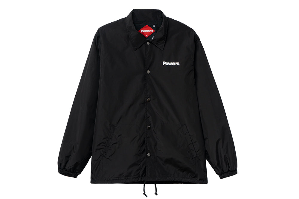 Powers Coaches Jacket (black)