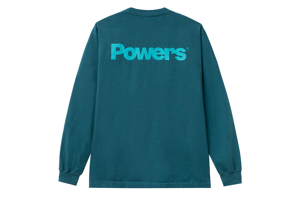 Powers Xtra Heavyweight LS (jade green)