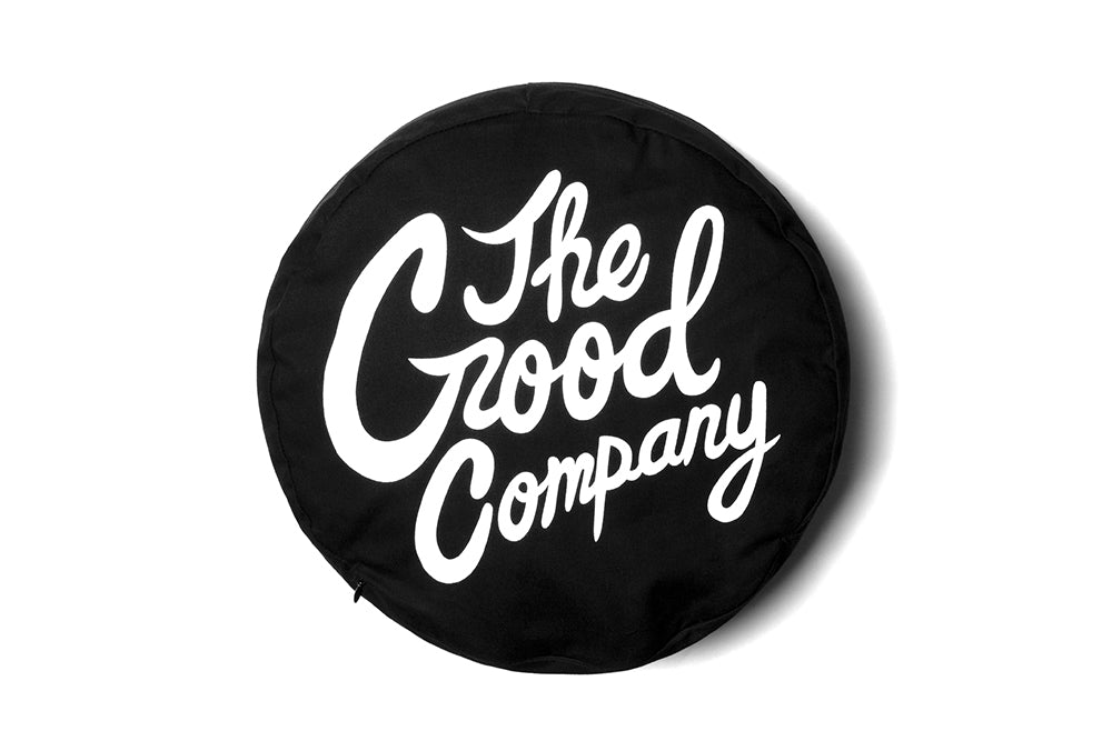 The Good Company Logo Pillow