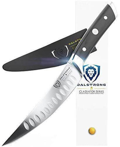 """Curved Fillet Knife 6""""   Gladiator Series   NSF Certified   Dalstrong ©"""