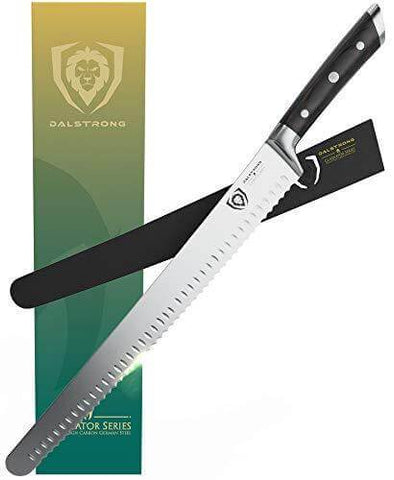 """Extra-Long Serrated Slicer 14"""" 