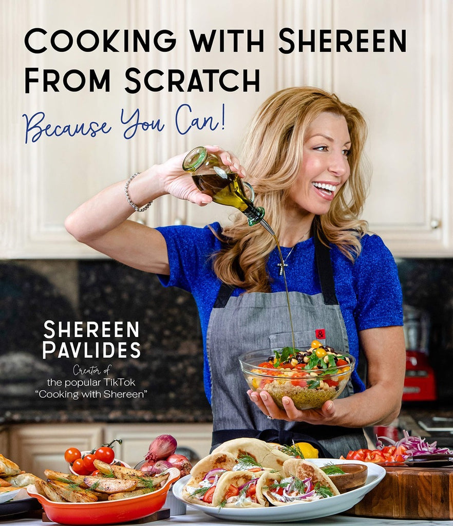 Cooking with Shereen From Scratch cookbook cover