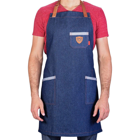 Dalstrong Professional Chef's Kitchen Apron - American Legend with white background