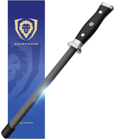 """Dalstrong Ceramic Honing Rod- 10"""" - Scratch-Free Ceramic Coating"""