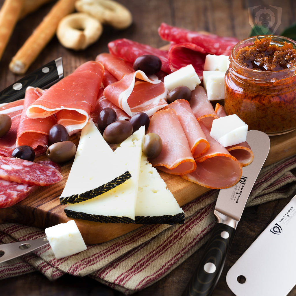Charcuterie & Cheese Knife Set | Gladiator Series | Dalstrong ©