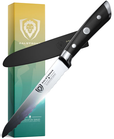 """Serrated Utility Knife 5.5"""" 