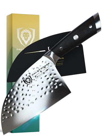 """Serbian Chef's Knife 7.5""""   Gladiator Series   NSF Certified   Dalstrong ©"""