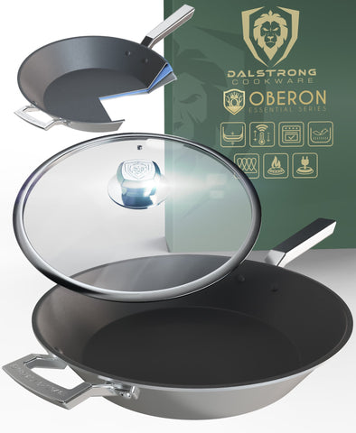 "12"" ETERNA Non-Stick Frying Pan & Skillet - The Oberon Series"