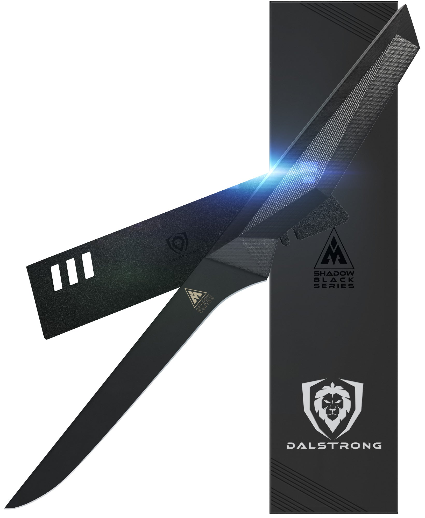 Shadow Black Series Straight Boning Knife