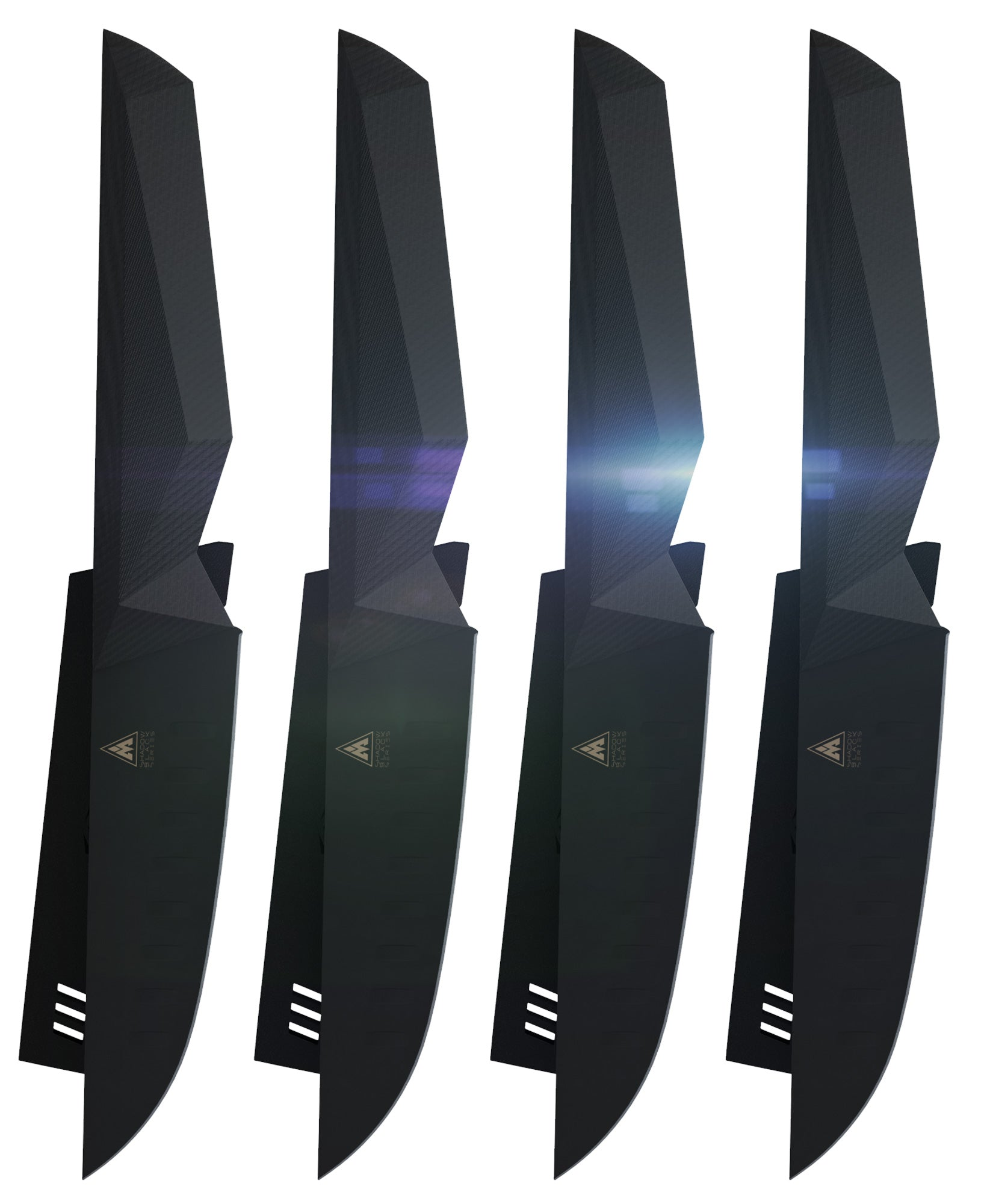 Shadow Black Series Steak Knife Set