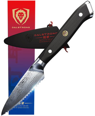 "Shogun Series 3.5"" Serrated Paring Knife"