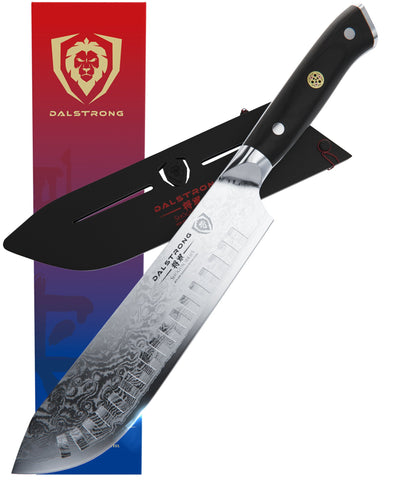 "Shogun Series 8"" Bull Nose Butcher Knife"