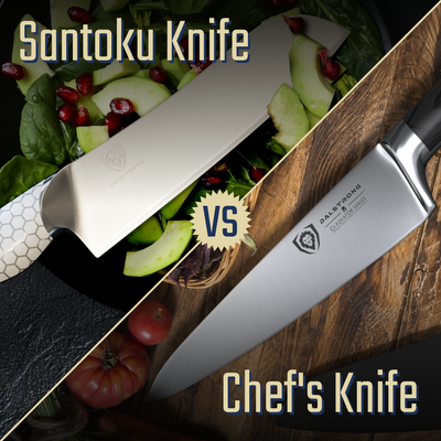 The Difference Between A Santoku Knife And A Chef's Knife