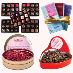 Various Fancy Chocolate collections