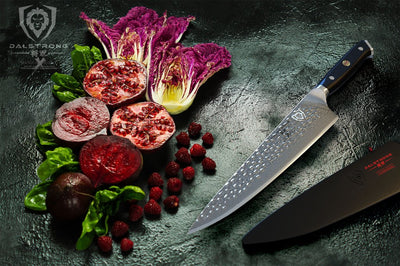 The Difference between a santoku and chef knife